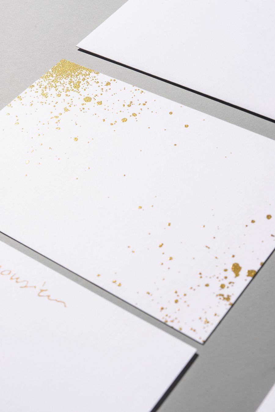 Outils de communication et graphisme fait par le Studio Emma Roux pour la bijouterie Monsieur de Paris