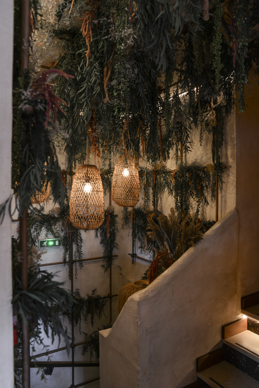 Le Studio Emma Roux en collaboration avec Christopher Matignon, a fait la décoration de Marie Belle, Boulevard de Bonnes Nouvelles à Paris.
